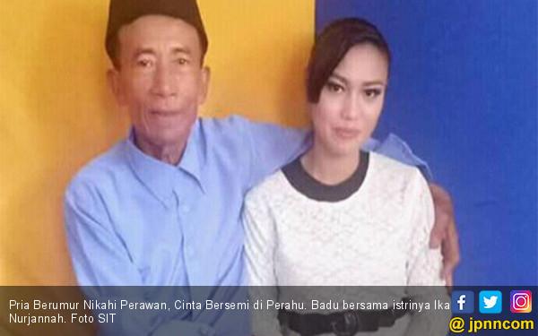 Pria Berumur Nikahi Perawan, Cinta Bersemi di Perahu - JPNN.COM