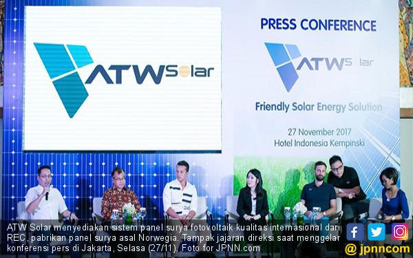 ATW Solar Perkenalkan Panel Fotovoltaik Kualitas Dunia - JPNN.COM