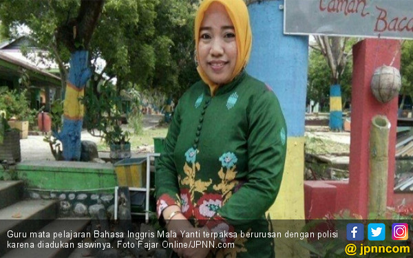 Kids Zaman Now, Siswi Dicubit Guru, Mengadu ke Polisi - JPNN.COM