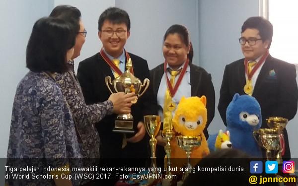 Borong 40 Emas, Pelajar Indonesia Berjaya di AS - JPNN.COM