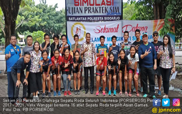 Atlet Jatim Terbaik Dalam Seleknas Sepatu Roda Asian Games - JPNN.COM 47fee77aeb