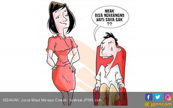 NGAKAK: Jurus Maut Merayu Cewek - JPNN.COM