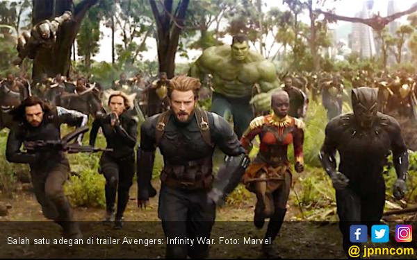 Avengers Jadi Anggota Klub Dua Miliar Dolar - JPNN.COM