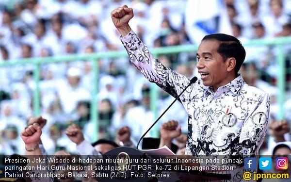Jokowi: Peran Guru Tak Bisa Tergantikan - JPNN.COM