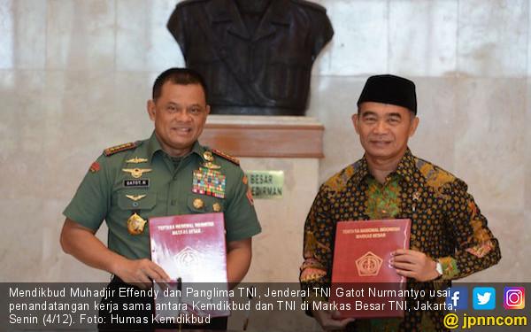 Kemdikbud-TNI Bersepakat Memajukan Pendidikan di Daerah 3T - JPNN.COM