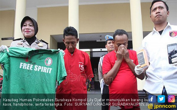 Bermodal Kaos Hijau, Pencopet Beraksi di Kerumunan Bonek - JPNN.COM