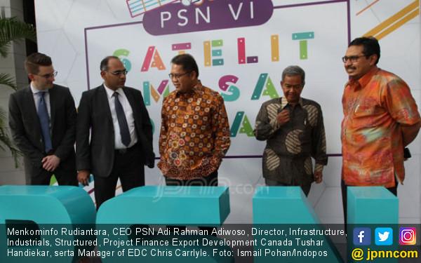 PSN Bangun Satelit, Internet Kecepatan Tinggi Segera Hadir - JPNN.COM