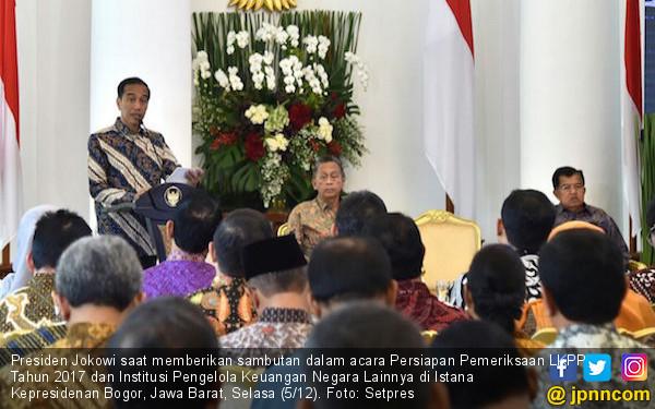 Jokowi: Tata Kelola Keuangan Wajib Berpredikat WTP - JPNN.COM