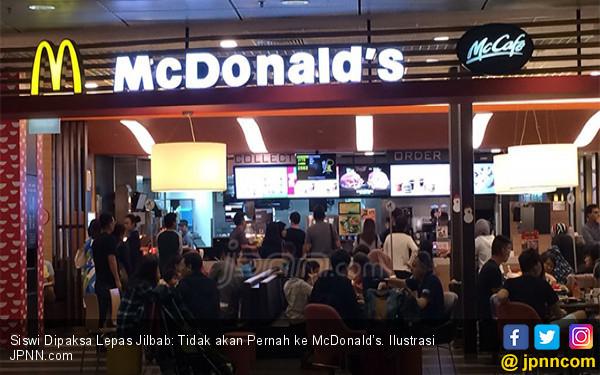 Korban Dipaksa Lepas Jilbab: Tidak akan Pernah ke McDonald's - JPNN.COM