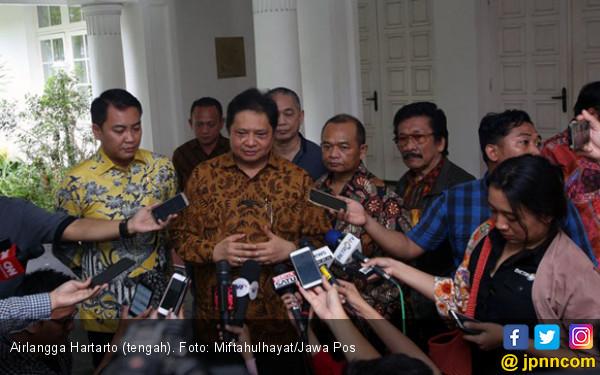 Airlangga Tak Masalah Bersaing dengan Idrus dan Titiek - JPNN.COM