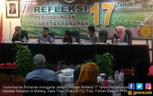 Wacanakan Regulasi Satu Atap Pendaftaran Varietas Tanaman - JPNN.COM