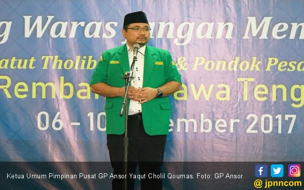 Gus Yaqut: Langkah Jokowi Gandeng Kiai Ma'ruf Sangat Cerdas - JPNN.COM