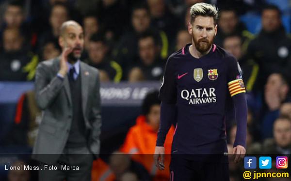 Lionel Messi Tolak Gaji Rp 15,4 Miliar per Minggu dari City - JPNN.COM
