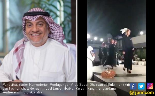Raja Salman Pecat Pejabat Arab Saudi Penonton Fashion Show - JPNN.COM