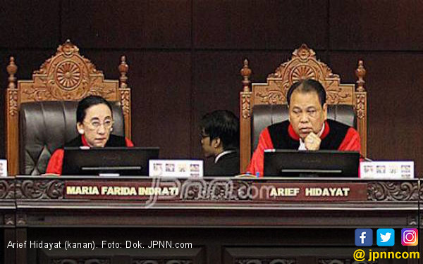 Sah, Arief Hidayat Hakim MK Lagi - JPNN.COM