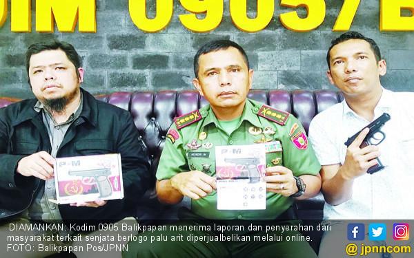 Situs Online Jual Airsoft Gun Berlogo Palu Arit - JPNN.COM