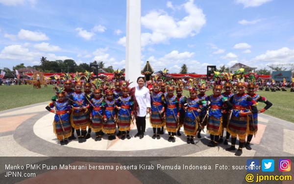 Pesan Mbak Puan Untuk Peserta Kirab Pemuda Indonesia - JPNN.COM