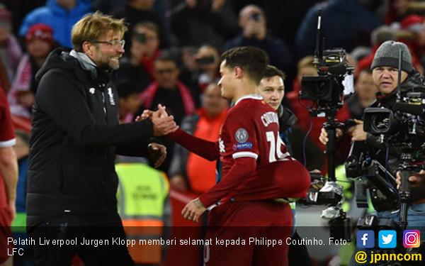 Malu-Malu, Coutinho Bawa Pulang Bola Liverpool vs Spartak - JPNN.COM