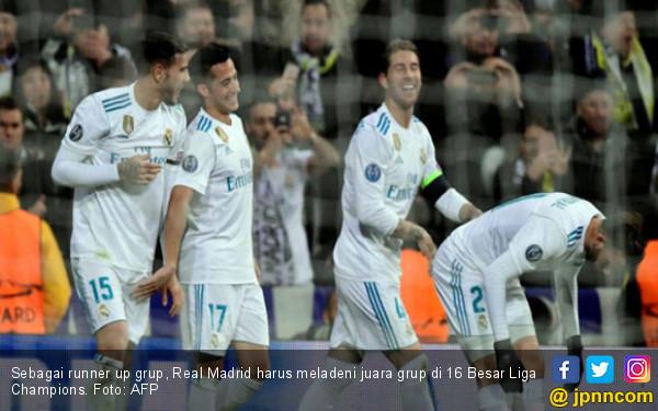 Skenario 16 Besar Liga Champions, Madrid Ditunggu 5 Tim Kuat - JPNN.COM