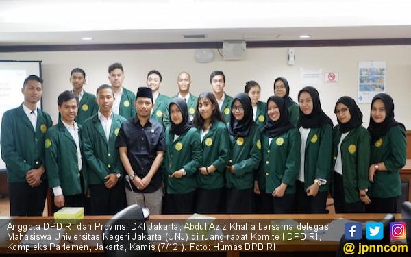 Senator DKI Memotivasi Mahasiswa agar Bercita-cita Tinggi - JPNN.COM
