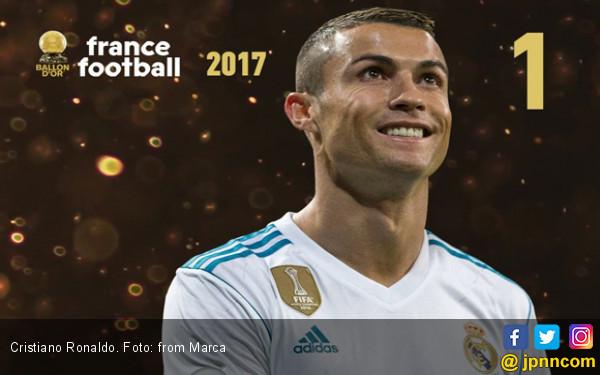 Resmi, Cristiano Ronaldo Raih Ballon d'Or 2017 - JPNN.COM