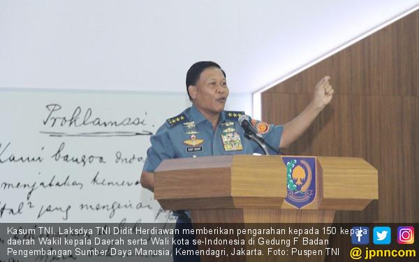 Kasum TNI Tekankan Pentingnya Jiwa Patriotisme Pemimpin - JPNN.COM