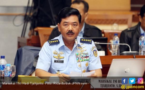 Kapan Marsekal Hadi Tjahjanto Dilantik jadi Panglima TNI? - JPNN.COM