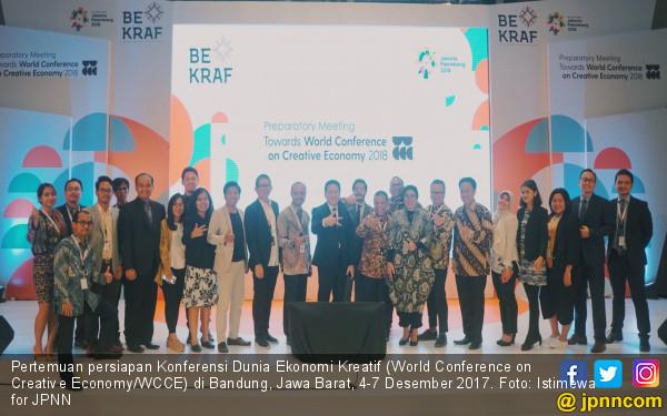 6 Poin Pertemuan Persiapan Konferensi Dunia Ekonomi Kreatif - JPNN.com