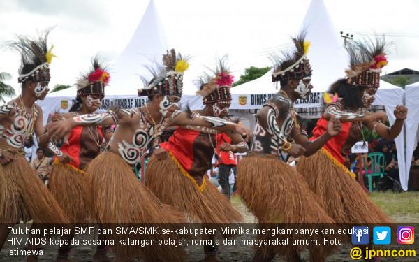 Freeport Dukung Pelajar Papua Memerangi AIDS - JPNN.COM