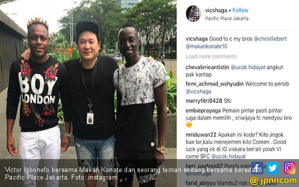 Igbonefo Merapat, Pertahanan Sriwijaya FC Makin Kukuh - JPNN.COM