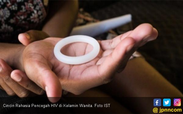 Cincin Rahasia Pencegah HIV di Kelamin Wanita - JPNN.COM