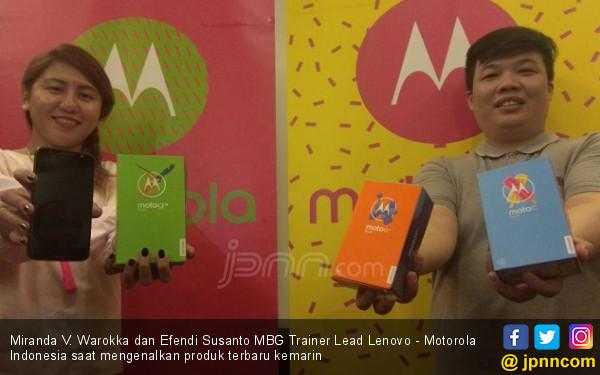 Luncurkan 3 Produk, Motorola Bidik Generasi Milenial - JPNN.COM