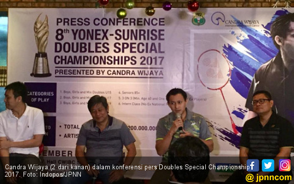 Doubles Special Championship Hanya untuk Ganda Lokal - JPNN.COM