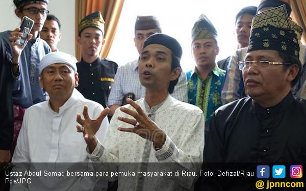 Kasus Ustaz Abdul Somad, Arya Ancam Laporkan Balik LE