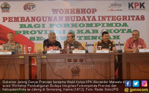 KPK Tegaskan Penyebutan Nama Ganjar Bukan Bukti Keterlibatan - JPNN.COM