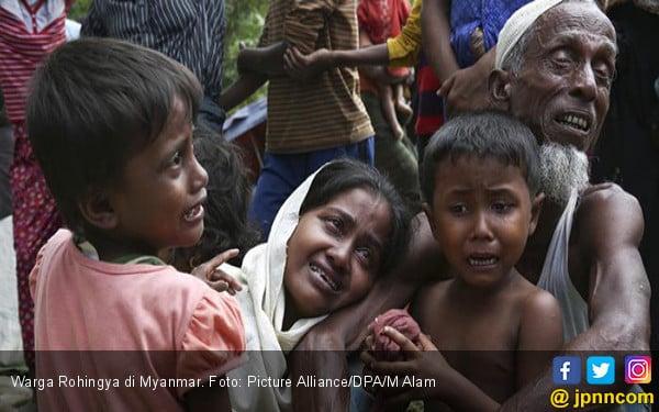 10 Tahun Penjara untuk Pembantai Rohingya - JPNN.COM