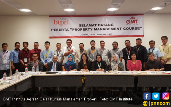 GMT Institute Agresif Gelar Kursus Manajemen Properti - JPNN.COM