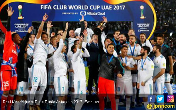 Ronaldo Antar Real Madrid jadi Juara Piala Dunia Antarklub