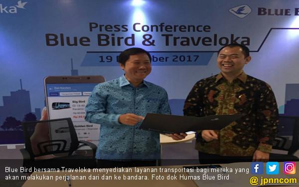 Blue Bird Gandeng Traveloka - JPNN.com
