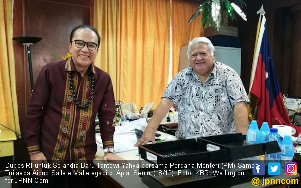 Sip, Dubes Tantowi Yahya Kenalkan Kuliner Nusantara ke Samoa - JPNN.COM