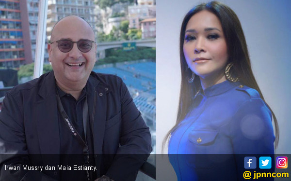 Sah! Maia Estianty Resmi Dinikahi Irwan Mussry - JPNN.com