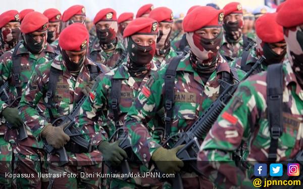 Pasukan Elite TNI dari Tiga Matra Siap Bergerak - JPNN.COM