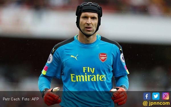 Petr Cech di Ambang jadi Legenda Usai Arsenal vs Liverpool - JPNN.com