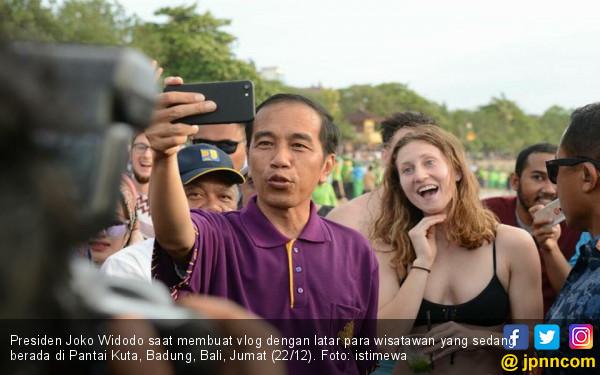 Bali Aman, Objek Wisata Pantai Kebanjiran Wisatawan - JPNN.com