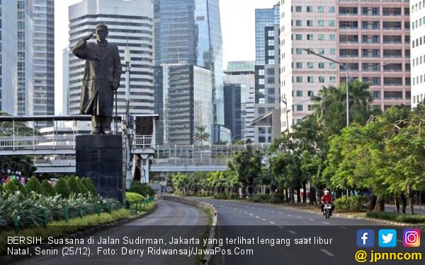 Sudirman-Thamrin Sudah Bersih dari Rambu Larangan Bermotor - JPNN.COM