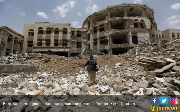 Koalisi Saudi Kembali Menebar Maut di Yaman, Anak-Anak dan Perempuan Jadi Korban - JPNN.com