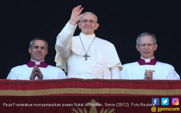 Konflik Amerika Vs Iran Bikin Paus Fransiskus Sangat Resah - JPNN.com