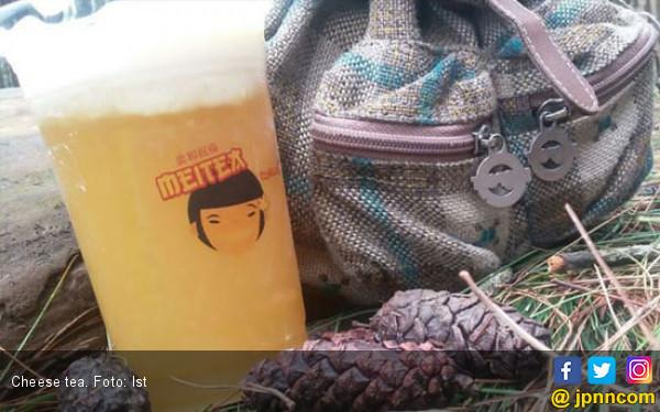 Laris Manis Minuman Kekinian, Cheese Tea - JPNN.com