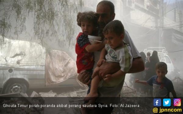 Ghouta Neraka Dunia, Satu Kakus Dipakai 300 Orang - JPNN.COM