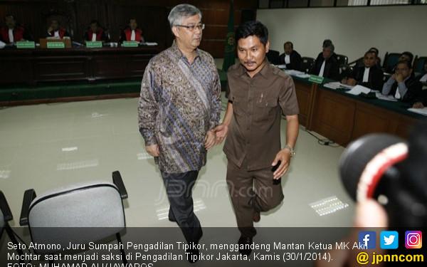 Juru Sumpah: Mayoritas Terdakwa Kasus Korupsi Gemetar - JPNN.COM